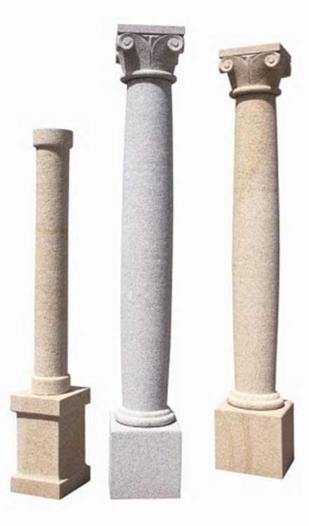 Vendita e fornitura colonne pietra luserna serizzo vercelli for Colonne da giardino
