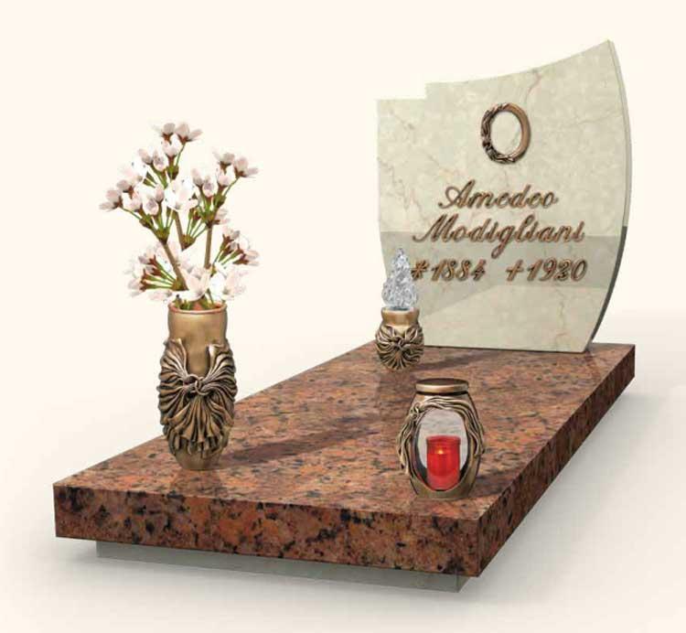Vendita e fornitura lapidi in granito vercelli for Scritte in polistirolo prezzi