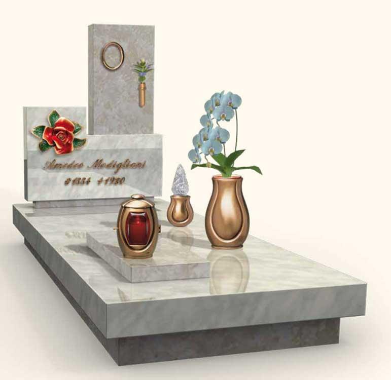 Vendita e fornitura lapidi in marmo vercelli for Arredi cimiteriali