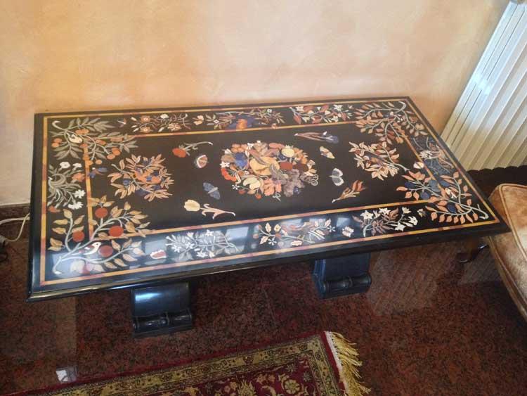 Vendita e fornitura Tavoli in marmo Vercelli