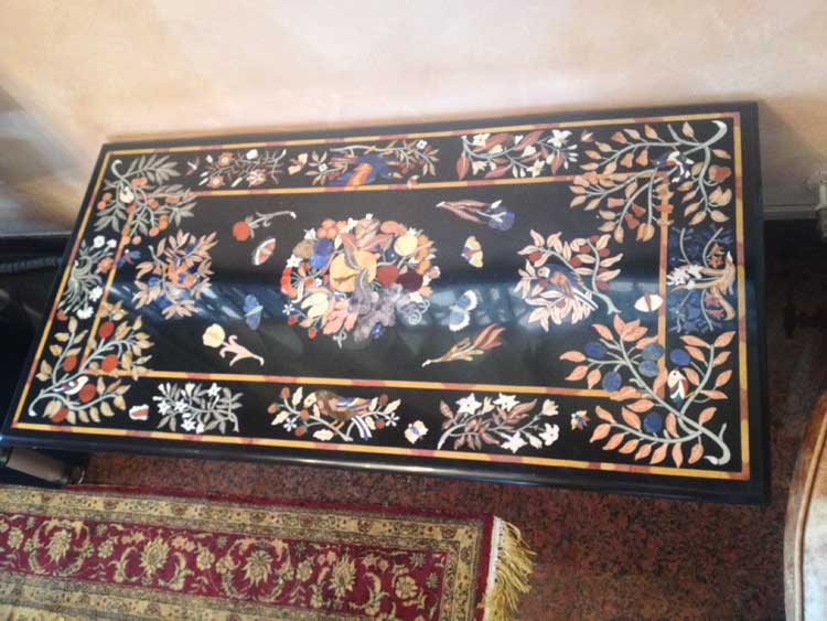 Tavoli Di Marmo Intarsiati : Vendita e fornitura tavoli in marmo vercelli