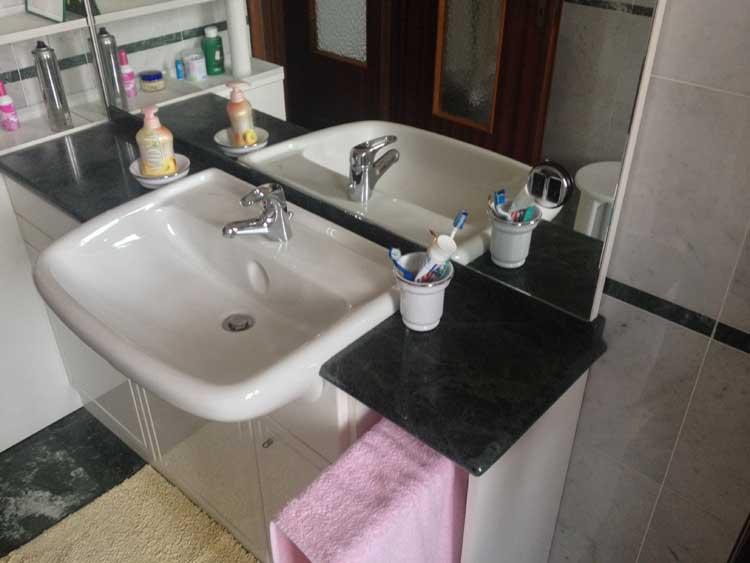 Vendita e fornitura top bagno in marmo vercelli